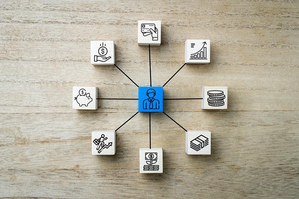 ilustração de como fazer um planejamento financeiro
