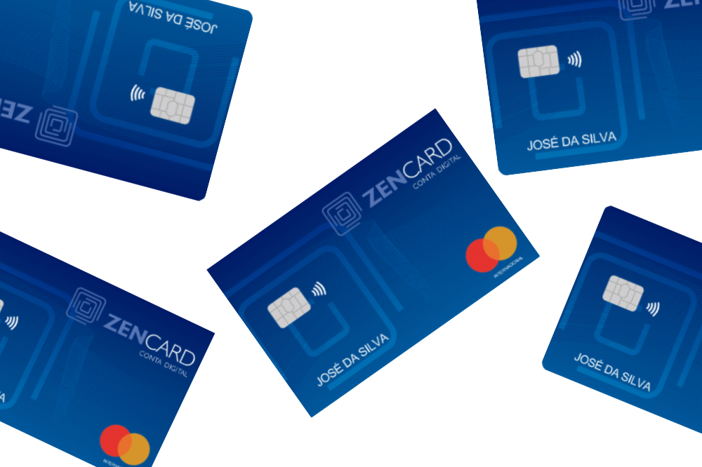 Cartão de crédito Pré-pago Zencard Mastercard