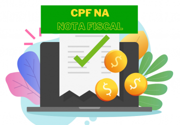 CPF na nota fiscal