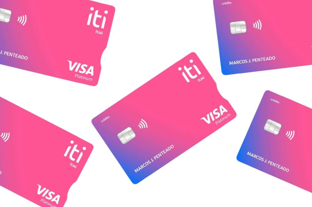 Cartão de crédito Iti Itaú Visa Platinum