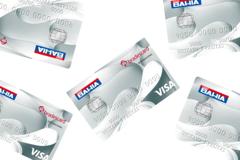 cartão de crédito Casas Bahia Visa Gold