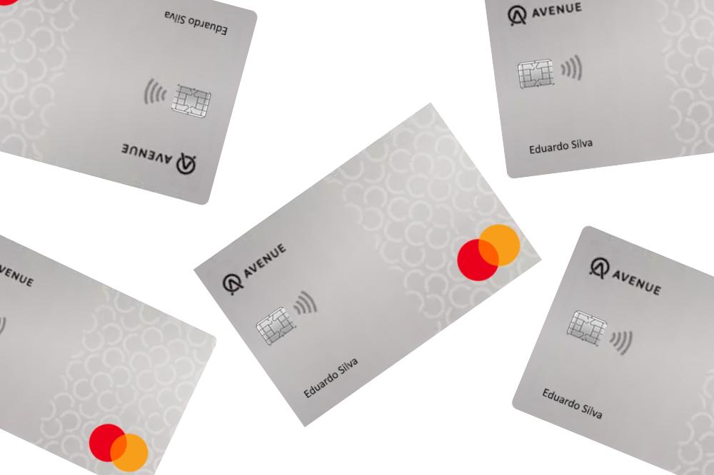 cartão de crédito e débito Avenue Banking Mastercard