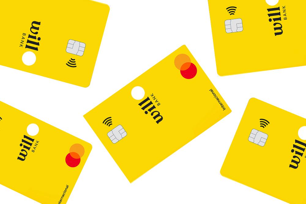 cartão de crédito e débito Will Bank Mastercard