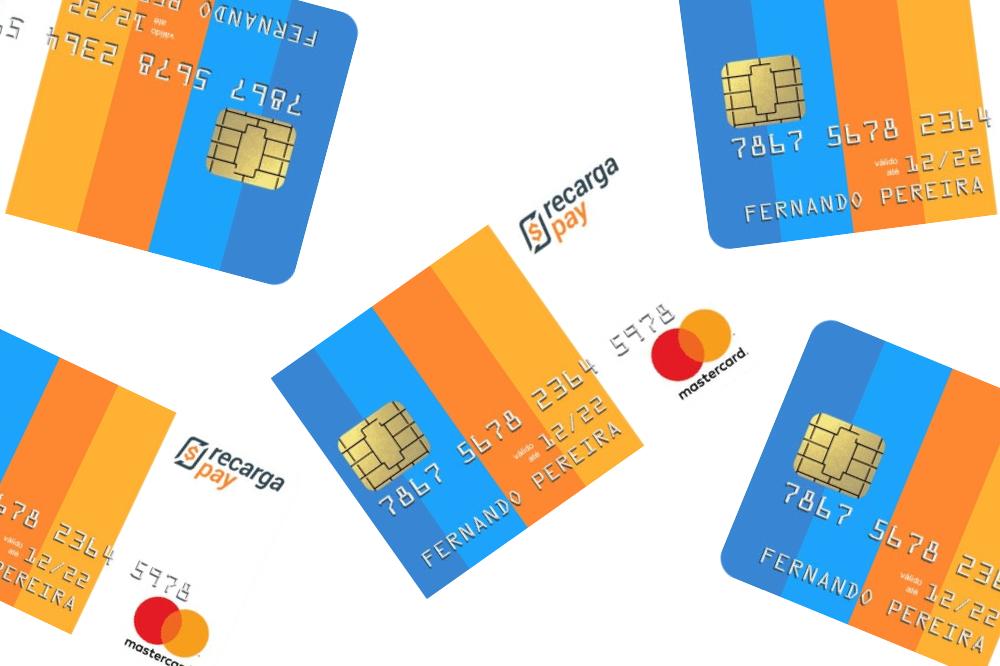 cartão de crédito RecargaPay Mastercard Internacional