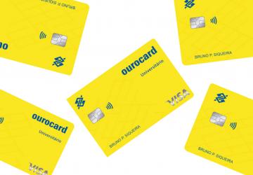 cartão de crédito Ourocard Universitário Visa Internacional