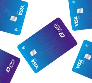 cartão de crédito N Card Visa Gold