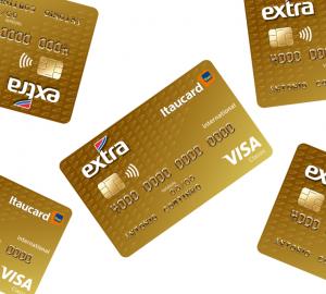 cartão de crédito Extra Itaucard Visa Internacional